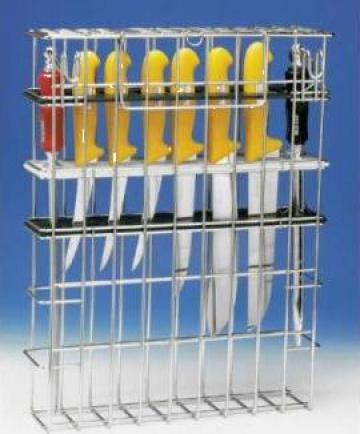 Cosuri din inox pentru sterilizat si depozitat cutite de la Tehno Food Com Serv Srl