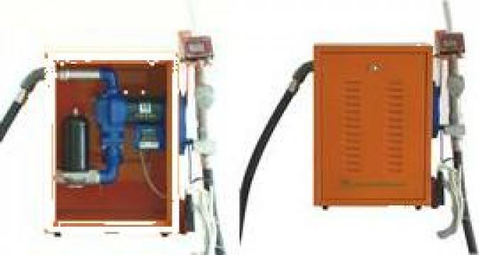 Pompa de transvazat benzina Antiex cu contor si Cutie