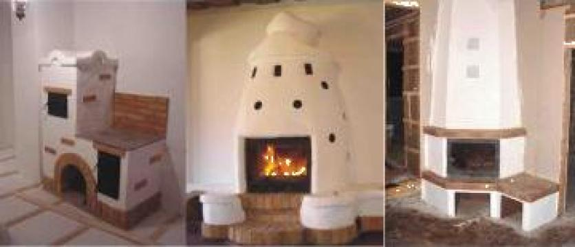 Semineu, barbeque, soba caramidaa, cuptoare pe lemne de la Monument Sipos