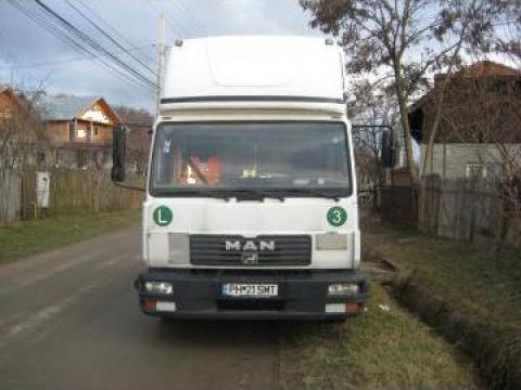 Transportor Autoturisme MAN 8185LC de la Semtrac Srl