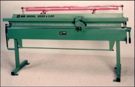 Utilaje manuale si mecanizate pentru tinichigerie