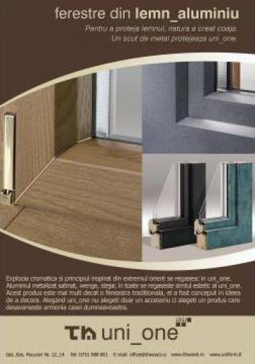Tamplarie, ferestre, usi din lemn stratificat, PVC de la Th. Wood Sil. Con.