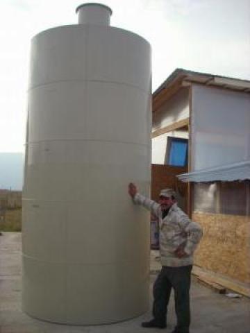 Rezervoare verticale pp. de mari dimensiuni de la Eco Rotary SRL