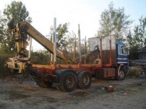 Camion transport lemn Scania RH 143 de la Izamir Construct Srl