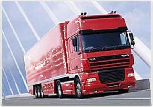 Transport produse siderurgice de la Universal Spedition Srl