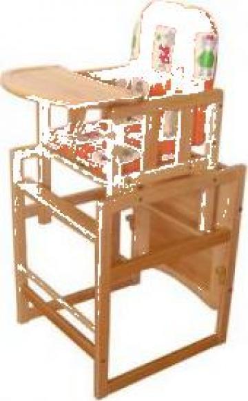 Scaun de masa copii inalt Maria de la Industries Elite