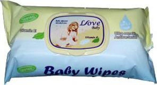 Servetele umede Baby Love de la Rolen Ltd.