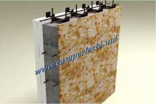 Cofraje termoizolante EPS 25 kg/ mc de la Termoblock