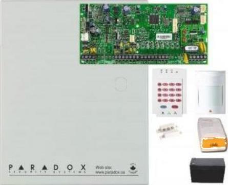 Sistem alarma cablat pentru apartament Paradox Spectra