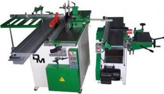 Masina universala separata pentru tamplarie lemn de la Cod 5A Prodcomserv Srl