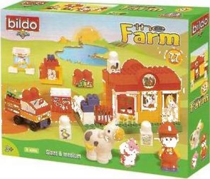 Jucarii educative de construit Bildo de la S.c. Bildo Toys S.r.l.