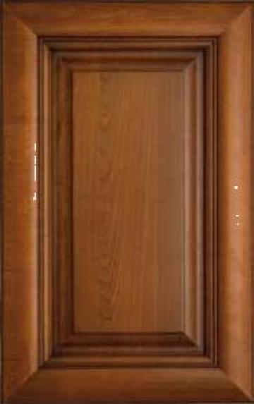 Front cu panou Asti, lemn masiv pentru bucatarii