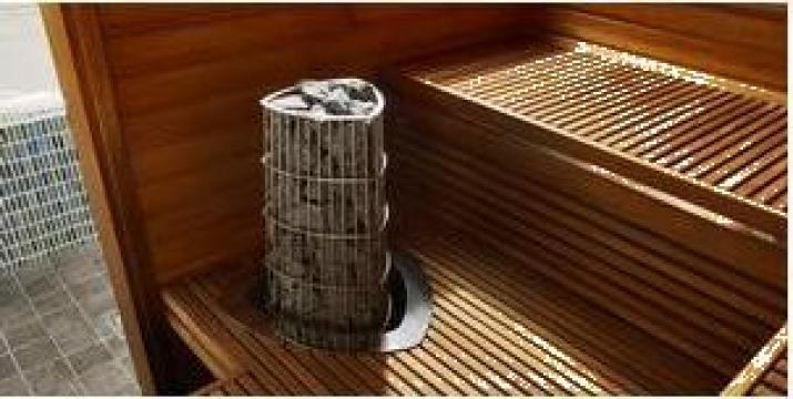 Sauna finlandeza 1945 x 1505 de la Balkan Pool Srl