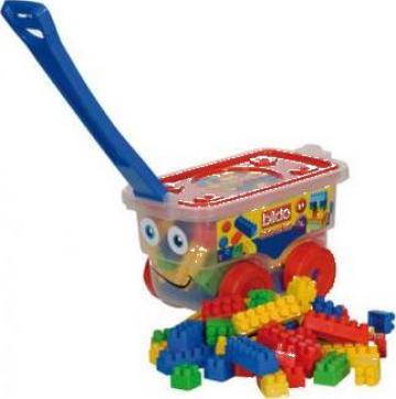 Jucarie, troller caramizi/ banc scule si unelte/ bucatarie de la S.c. Bildo Toys S.r.l.