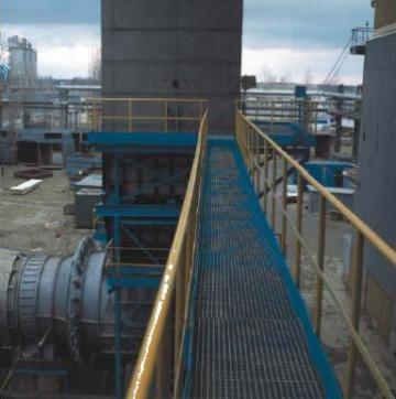 Gratare metalice Dovexim zincate pentru trafic greu
