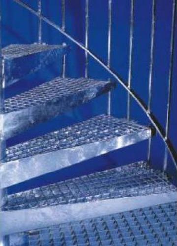Constructii metalice electroforjate si zincate termic