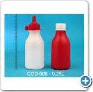Flacon plastic 0,25 l de la Vanmar Impex Srl