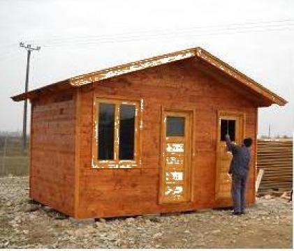 Cabana de lemn de la Ela Natto