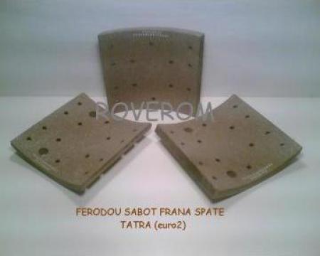 Ferodou sabot frana spate Tatra (euro 2)