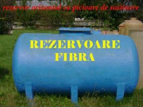 Rezervor fibra sticla orizontal 2500 l de la Custom Tanks Srl
