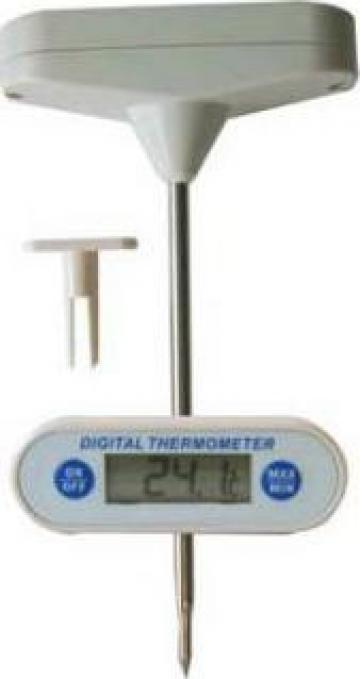 Termometru digital cu sonda pentru produse alimentare de la Tehno Food Com Serv Srl