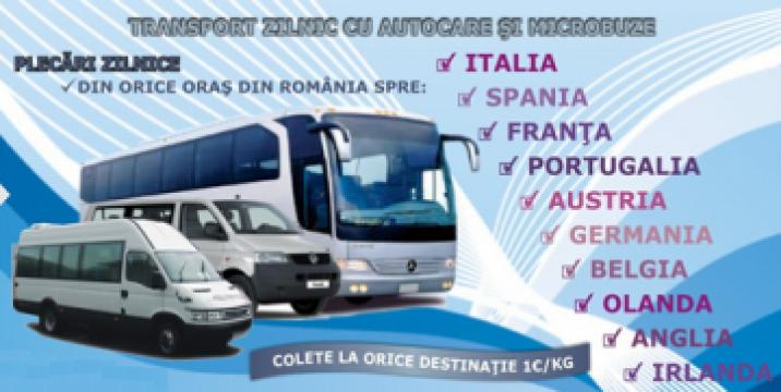 Transport persoane Romania Timisoara Franta de la Transport International Srl