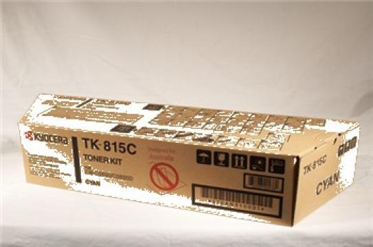Cartus Imprimanta Laser Original KYOCERA TK-815C de la Green Toner