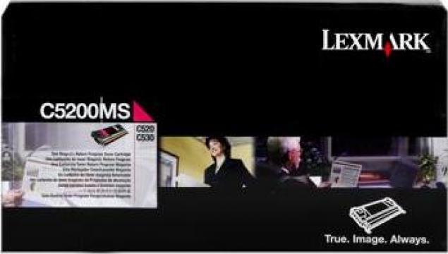 Cartus imprimanta laser original Lexmark C5200MS