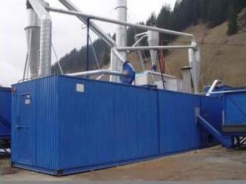 Echipament linie automata fabricat pelet - montaj exterior de la Seba Industrial Srl