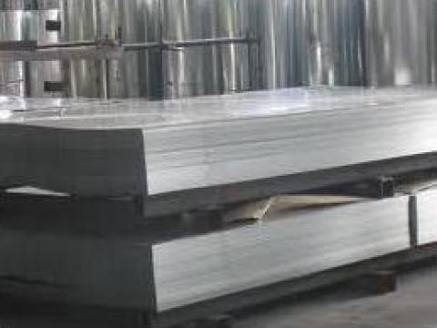 Tabla zincata lisa dreapta 0,25 de la Dinamic Blue Steel