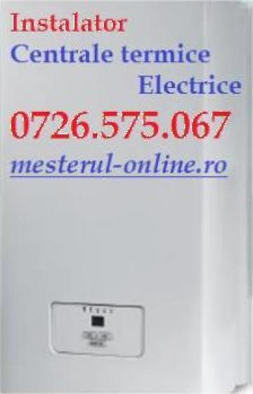 Montaj centrale termice electrice de la Sc Montaj Centrale Termice SRL