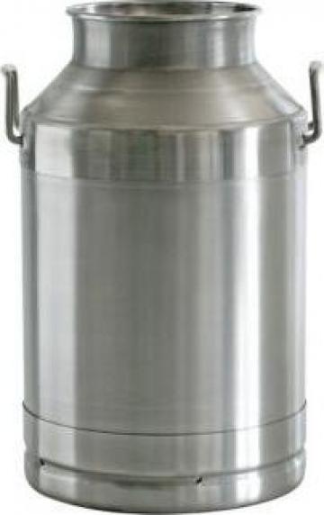 Bidoane inox lapte, miere 20L, 25L, 30L, 40L, 50L de la APF Trade Srl