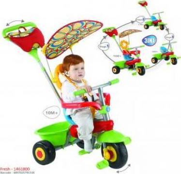 Tricicleta Smart Trike Fresh red/green/blue