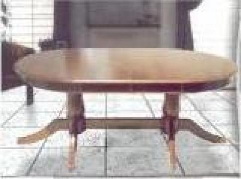 Mese si scaune din lemn masiv de la Coroian Mobila & Decoratiuni Srl