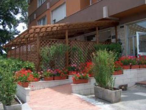 Pergole din lemn pentru gradina