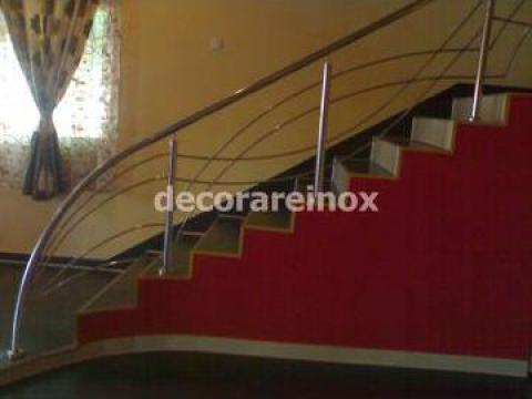 Balustrada inox Bucuresti de la Decorare Inox Srl
