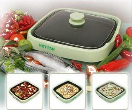 Tigaie electrica Hot Pan de la Universal Shopping