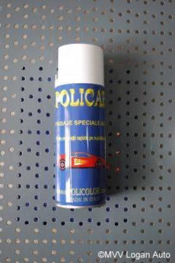 Spray alb negru reparatii auto de la Mvv Logan Auto Srl