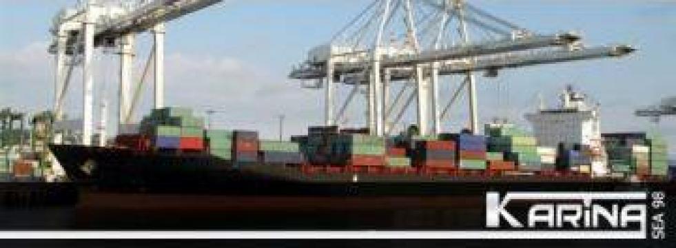 Servicii transport, Forwarding agent de la Karina Sea 98