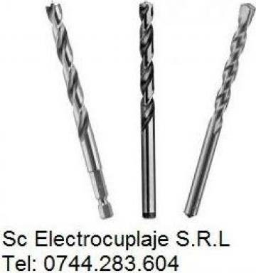 Burghiu elicoidal scurt cu coada conica intarita de la Electrofrane