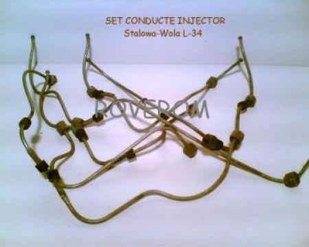Set conducte injector motor SW680, Stalowa-Wola L-34