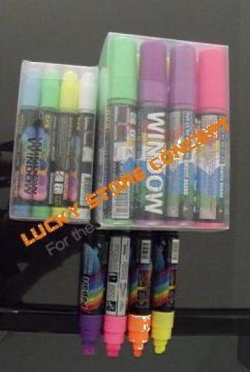 Carioca marker florescent de la Lucky Store Solution SRL