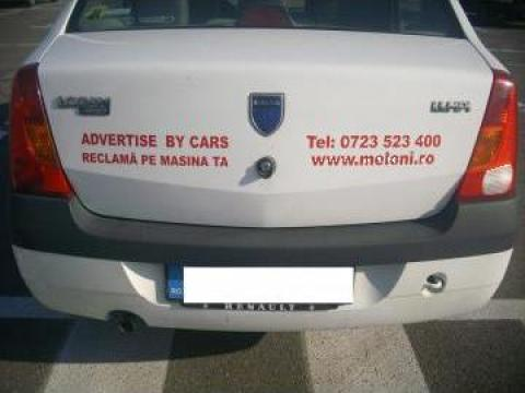 Servicii de publicitate - reclama pe masina ta