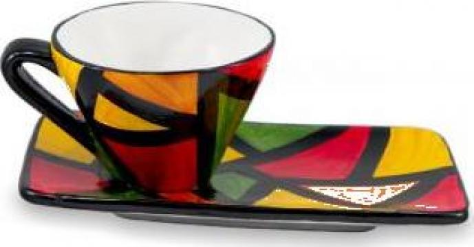 Ceasca de cafea Van Gogh din ceramica de calitate de la Arkade Romania Srl