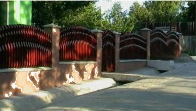 Garduri din lemn de la II. Rotariu Constantin