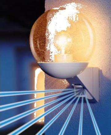 Lampa cu senzor de miscare infrarosu Steinel L535S (alb) de la Steinel Distribution