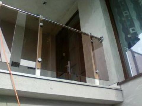 Balustrada sticla parasolar de la New Metal Design SRL