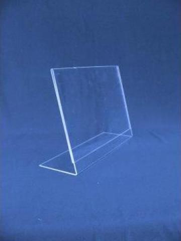 Suport plexy orizontala format A5