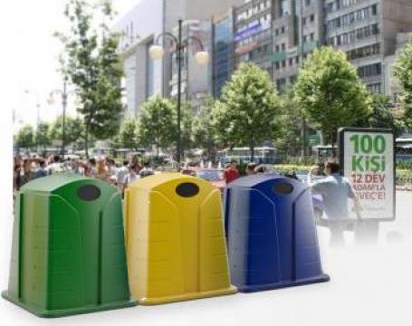 Containere clopot pentru colectarea selectiva
