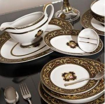 Serviciu masa portelan 25 piese de la Porcelain Manufactures Srl